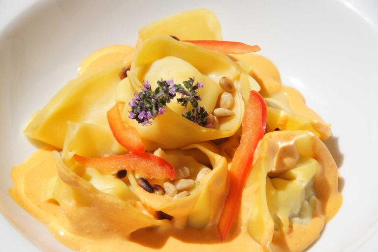 hausgemachte pasta restaurant stuevetta st. moritz